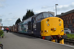 Direct Rail Services 37716 (Will Swain) Tags: station svr severn valley railway diesel gala 19th may 2016 train trains rail railways transport travel uk britain vehicle vehicles england english midlands kidderminster direct services 37716 class 37 716