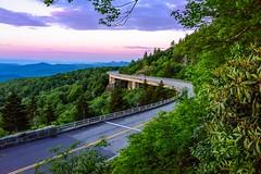 Linn Cove Viaduct (robert_golub) Tags: sunrise blueridgeparkway grandfathermountain northcarolina linncoveviaduct