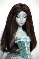 Chocolate (Kimirra) Tags: alpaca ombre bjd abjd lillycat colorfulhair alpacawig angorawig kagamidesign