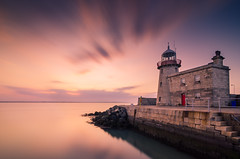 Howth Harbour Lighthouse (Pekko Ahlsten) Tags: longexposure travel ireland sunset sea summer sky howth dublin cloud sun lighthouse seascape color colour reflection building travelling beach water beautiful beauty architecture clouds stairs reflections landscape harbor landscapes seaside nikon flickr colours harbour tripod tokina nd hoya globetrotter ndfilter travelphotography nd400 reflectionsinthewater nikonians skylovers mefoto hoyand400 d7000 tokina1116mm nikond7000 mefotoglobetrotter