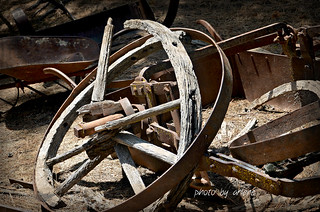 Worn -Out Wheel-