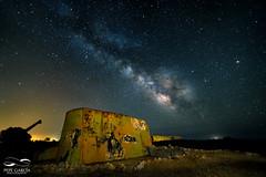 Explosin en el cielo... (ppgarcia72) Tags: longexposure stella night star noche nikon via estrellas nocturna guns mallorca milkyway caon largaexposicin samyang vialactea samyang14mm nikond610