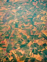 Aragonien (khn.carsten) Tags: landscape spain landschaft spanien birdseye ort vogelperspektive