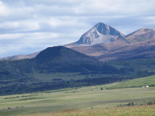 Glacier National Park near Hear Butte, Montana