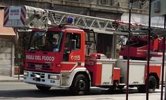 Iveco EuroFire 150E27 Vigili del Fuoco Genova (alessio2998) Tags: genova 115 iveco vvf vigilidelfuoco eurofire 150e27