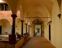 Certosa di Pontignano - 3 (anto_gal) Tags: chiesa siena toscana sanpietro chiostro certosa 2016 pontignano castelnuovoberardenga conversi