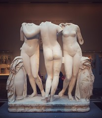 Squad goals.  The Three Graces, Roman, c. 100 AD. My favorite sculpture in New York, at @metmuseum | #metmuseum #romanart #nycart #artmuseum #museums #arthistory #storiadellarte #ancientgreece #ancientart #greekart #ancient #antiquities #antiquity (rokorumora) Tags: new york sculpture favorite three ancient roman c ad statues threegraces goals 100  marble squad artmuseum museums graces arthistory ancientgreece | antiquity romanart metmuseum antiquities the ancientart greekart artlovers nycart storiadellarte my museumlife squadgoals