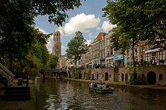 Utrecht - Oude Gracht (Grotevriendelijkereus) Tags: city holland water netherlands town canal utrecht nederland center historic kanaal moat centrum stad gracht historisch binnenstad