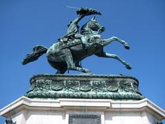 Equestrian Statue of Archduke Charles (Wiebke) Tags: vienna wien sterreich austria europe hofburg hofburgpalace statue equestrianstatue