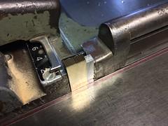 making fresh brass pipes (interrobang letterpress) Tags: typography helvetica letterpress stationery jamaicaplain handset duplexpaper hahnemhlebugra helveticaregularextended