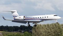 N1SF Gulfstream 550 (Anhedral) Tags: landing gulfstream bizjet g550 shannonairport corporatejet n1sf gulfstatestoyotainc