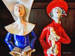 unity (albyn.davis) Tags: statuettes colors colorful vivid bright vibrant red blue singing religion fashion