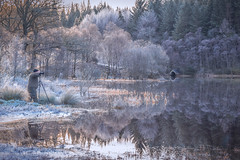 Loch Chon (MarkHarrisPhotography) Tags: winter seascape water landscape scotland photographer loch icy trossachs aberfoyle lochchon