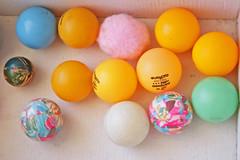 Trece (Gloria Ayala Barrera) Tags: colores pelotas 13 trece