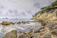 HDR St Elm rocas (Felipe Quetglas) Tags: hdr mallorca spain sea rocks clouds nubes cielo sky