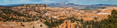 Bryce Canyon NP | Towards Fairyland (Facundity) Tags: summer panorama southwest nature landscape utah nationalpark sandstone unitedstates outdoor panoramic americathebeautiful mesa conifers fairylandcanyon brycecanyonnp 18135mm landscapebeauty boatmesa canoneos70d rachaelmlandau
