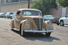 Walden Speed Shop Open House 2016 (USautos98) Tags: zephyr lincoln coupe 1937