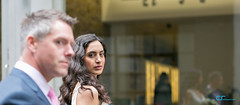 You looking at me!! (CrisssFotos) Tags: wedding reflection london beauty dark hair groom bride rob vicky