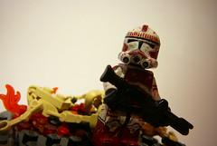 Clone Shock Trooper (Triple Zero) Tags: 2 trooper star lego shock wars custom clone phase klon
