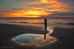 Cadzand Bad - 05051601 (Klaus Kehrls) Tags: strand meer sonnenuntergang urlaub nordsee abendstimmung