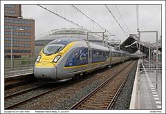 Eurostar 4013/14 - Amsterdam Bijlmer Arena - 16501 (21-06-2016) (Vincent-Prins) Tags: eurostar velaro e320 class374 4013 4014 amsterdam bijlmer arena 16501
