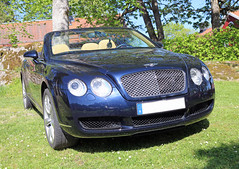 2007 Bentley Continental GTC (crusaderstgeorge) Tags: cars sweden continental sverige classiccars bentley 2007 gtc carmeet englishcars lvkarleby 2007bentleycontinentalgtc crusaderstgeorge