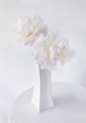 Peonies (Inna Karpova) Tags: doubleexposure stilllife peony flower texture white incamera