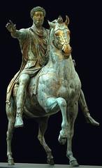 Ancient Rome. Equestrian portrait of Emperor Marcus Aurelius, 176 AD (mike catalonian) Tags: portrait bronze equestrian emperor marcusaurelius ancientrome 1stcenturyad 176ad nervoantoninedynasty