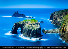 UK - England - Cornwall - Land's End during calm sunny day ( Lucie Debelkova / www.luciedebelkova.com) Tags: ocean uk greatbritain travel light sunset sea england panorama cliff seascape motion blur west english beach nature water beautiful beauty rock horizontal rural landscape outdoors island bay coast seaside europe cornwall surf european view britishisles natural unitedkingdom britain dusk horizon great over scenic eu nobody scene erosion formation coastal landsend shore western gb vista coastline british exploration landschaft idyllic isles tranquil scenics seacoast evropa magiclight anglie luciedebelkova wwwluciedebelkovacom