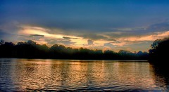And After The Storm We Went Boating (Kenny Shackleford) Tags: sky reflection clouds river alabama millbrook alabamariver wate