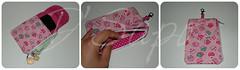 Porta Celular (D'Sapo) Tags: artesanato cellphone cell case pouch celular tecido estampas bolsinha necessaire portacelular cellcase cellpouch dsapo