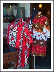 Shirts for your Hawaiian Vacation (sjb4photos) Tags: michigan ypsilanti appleanniesvintageclothing