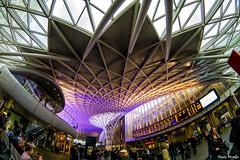 King's Cross Station (PauloHenrique Pereira) Tags: kings cross train station london england united kingdom fisheye vivitar 9mm