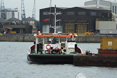 Recovery (kenjonbro) Tags: uk london boat greenwich tugboat tug riverthames se10 shoalbuster coryenvironmental kenjonbro coryriverside royalgreenwichborough