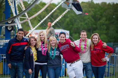 Student Activities hosts the senior picnic at the Falwell Farm on May 4, 2013.