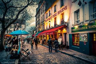 Place du Tertre à Montmartre - Paris