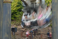They Were Mere Irritants to Nemesis (CoasterMadMatt) Tags: park uk england motion blur english speed season photography amusement spring slow ride photos britain united great towers may kingdom resort motionblur photographs bm shutter gb roller theme amusementpark moors british rides rollercoaster inverted coaster staffordshire alton themepark westmidlands altontowers attraction coasters nemesis midlands slowshutterspeed moorlands staffs 2013 coastermadmatt