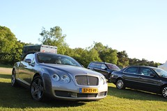 Bentley Continental GTC (Dannny32) Tags: auto sun holland netherlands car grey outdoor engine nederland continental motor petrol zon bentley w12 grijs gelderland the gtc papendal 2013