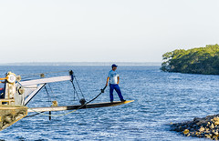 Babitonga Bay - Joinville/SC - Brasil (Gilberto Russo) Tags: blue sea sc azul brasil bay boat mar gilberto russo joinville baia vigorelli babitonga gilbertorusso