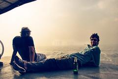 Stranger (Harry Hartanto) Tags: drunk indonesia fun island boat bottle laugh trips stanger pilauseribu