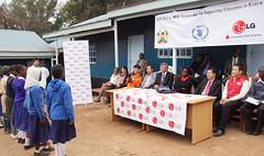 LG,  LG  (LGEPR) Tags: africa lg kibera csr lgelectronics  lg    lg lghopeschool