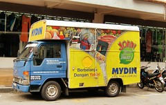 Colourful little delivery truck from Mydin Wholesale Emporium (ShambLady, pls read profile page...) Tags: street city cute yellow truck shopping de toy town george store colorful wheels yom georgetown transportation grandes malaysia delivery zipper colourful penang gt dickens geel loja pulau departamento lebuh deliver maleisie dinky kleurrijk jom kaufhaus pinang jabatan rits almacenes maaza dinkytoy  byk kedai warenhuis 2013 amarillio mydin jimat