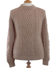 Classic aranstyle wool sweater (Mytwist) Tags: wool knitting warm knit knitted honeycomb textured handknitted cabled aranstyle