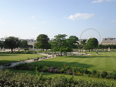 (May Machado) Tags: summer paris garden jardim ferriswheel vero rodagigante placeducarrousel
