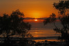 Sunrise through the mangroves (John Ibbotson (catching up!)) Tags: beach sunrise dawn day cloudy australia queensland cape tribulation mangroves