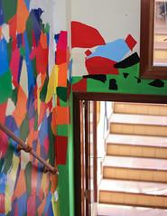 Escalera artistica (Luisa SistersCakes.es) Tags: collage stairs colorful arte colores escaleras colorines lvm lavueltaalmundo