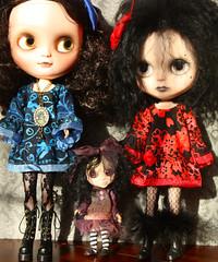 My three spooooooky girls....