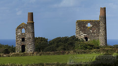 Wheal Uny (Simon Bone Photography) Tags: panorama building heritage abandoned stone tin mine cornwall mining stitched cornish enginehouse canonef400mmf56 cornishtinmine canoneos7d wwwsimonbonephotographycouk
