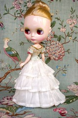For GBaby  Rapunzel  (Kikihalb  Forest~Tales ) Tags: set outfit clothing doll dress underwear handmade antique victorian silk blouse clothes era bodice blythe mm corsage rapunzel maiden petticoat matrioshka 1860 underskirt
