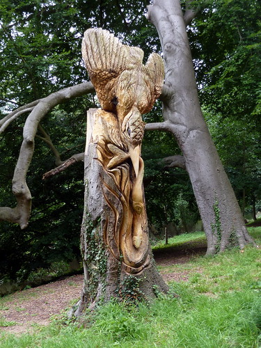 Tree Carvings - Knaresborough